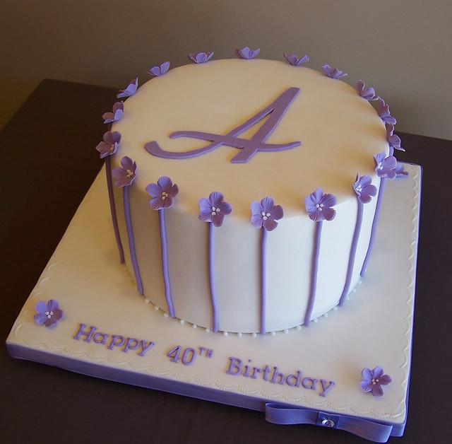 40th Birthday Cake Flickr - Photo Sharing!