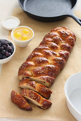 Chocolate Chunk Challah