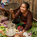 Making a Sale at the Market - Bandarban, Bangladesh