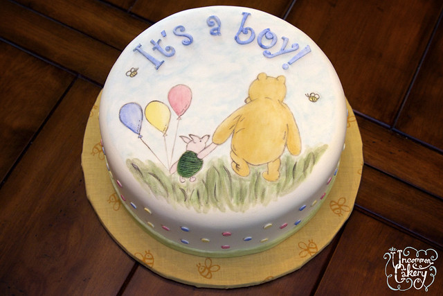 winnie the pooh baby shower cake flickr photo sharing
