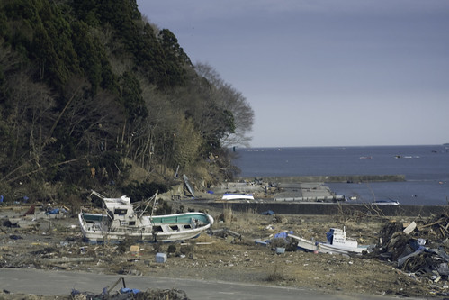 Japan earthquake and tsunami, March 11th.