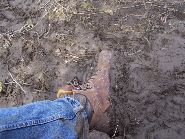 Muddy Boots from Flickr via Wylio