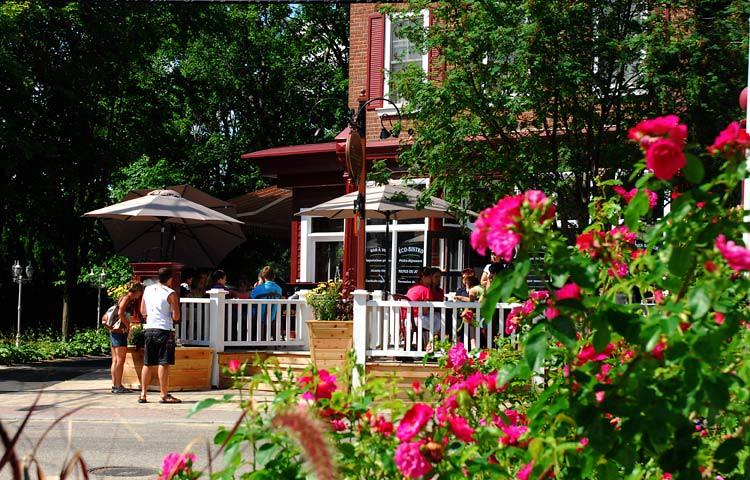 Auberge La Muse à Baie-St-Paul (Québec, Canada)