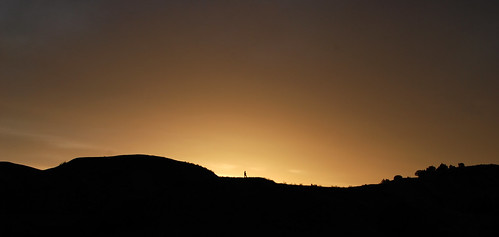 silhouette southdakota sunrise 35mm outdoors nikon hiking backpacking badlands d80