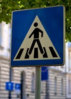 Croatian Crossing Man