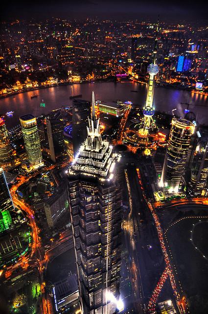 Jinmao Tower, Shanghai – What a wonderful view!!!