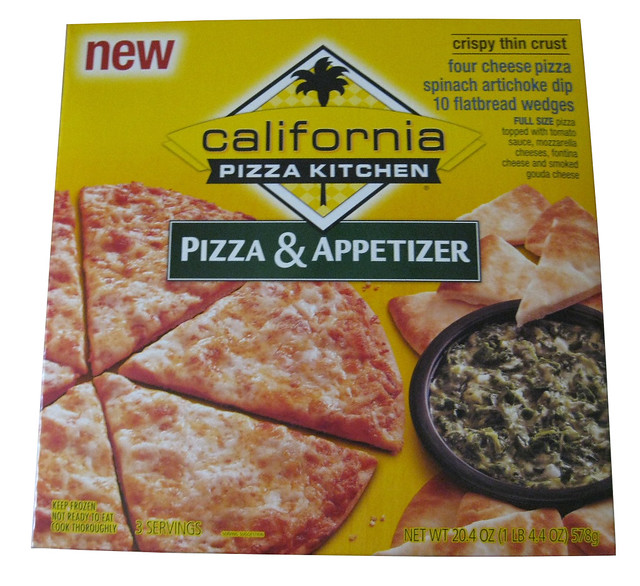 California Pizza Kitchen Pizza & Appetizer Four Cheese Spi