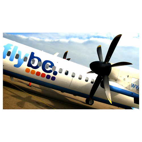 Flybe picture by Flickr user khrawlings