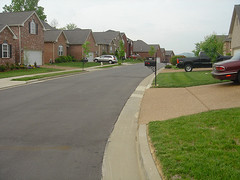 empirestatefuture posted a photo:	Photo: Aaron RennThis subdivision just happens to be in Nashville, but it could be anywhere. This kind of subdivision often doesn't include sidewalks.