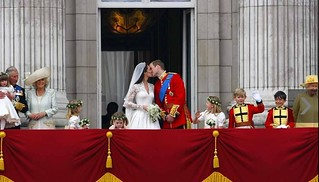 century kiss of kate middleton and william