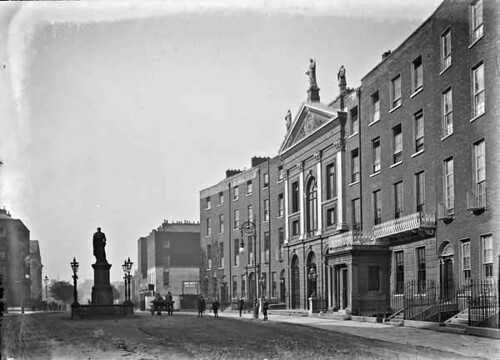 street ireland church crescent limerick jesuits glassnegative nationallibraryofireland munsterset