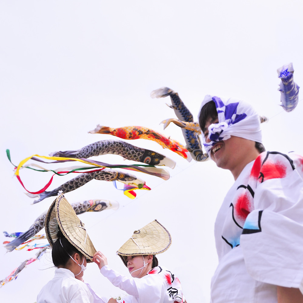 Japán utazás ünnepek, koinobori