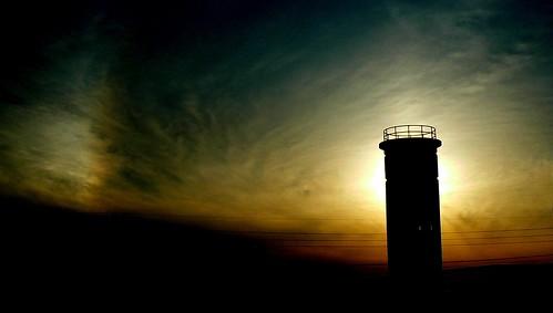 sunset interestingness explore sundog watchtower delawarenationalseashore wwiiwatchtower