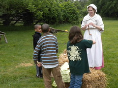Playing colonial games at Childrens Day