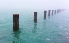 Chicago was foggy