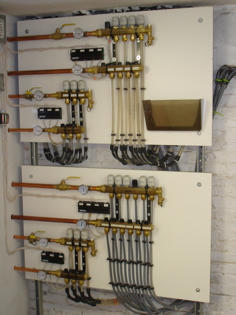 This Old House Appearance With Aladdin Plumbing Wiring Centralized Manifolds Distributing Different Water Temperatures Throughout A 4 Story Brownstone