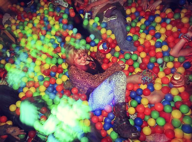 Ball pit - Jungle Is Massive - Glade Festival 2011 -