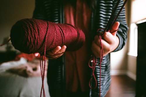 Teach me how to knit