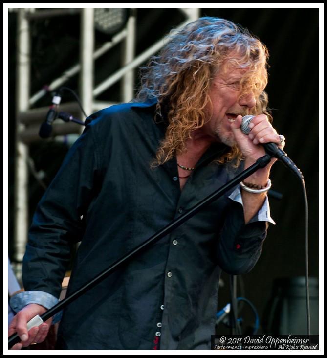 Robert Plant and the Band of Joy at Bonnaroo