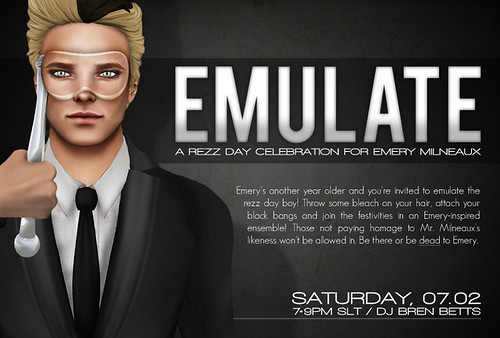 EMULATE: A Rezz Day Celebration for Emery Milneaux