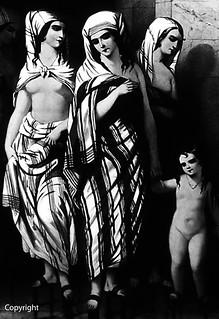 Turkey Istanbul Topkapi museum turkish naked women 1970's