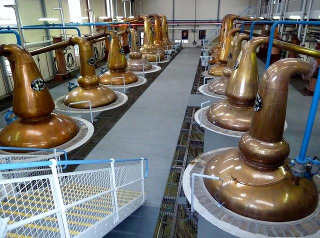 Still Room at Glenfiddich Distillery, Speyside,Scotland