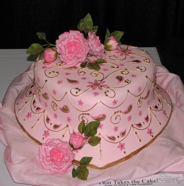 Cake Art Tucker : Zari Embroidery by Ruth Rickey Flickr - Photo Sharing!
