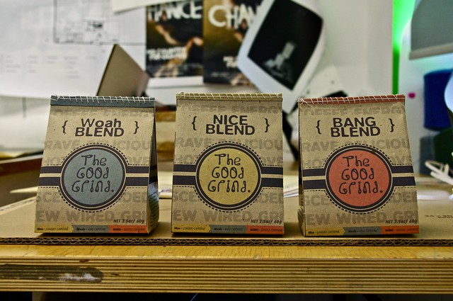 The Good Grind. Coffee Package Design