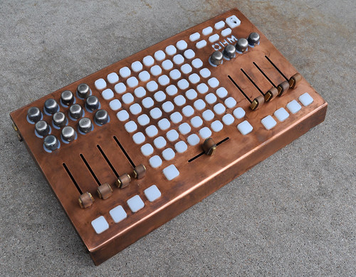 Ohm64 Signature Series - Copper angle by livid instruments