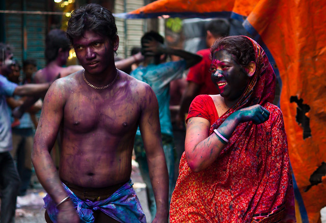 Happy Holi, Sakharibazar, Old Dhaka, Bangladesh - 35 Colorful Collection of Holi Photos