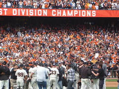 SF Giants win NL West