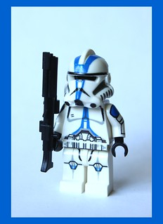 Custom Lego EP3 Clone 501st Legion Trooper $28.99 (front view)