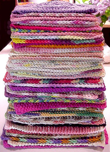 52-weeks of washcloths/dishcloths