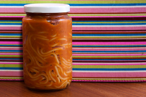 In a Jar not Tinned Spaghetti