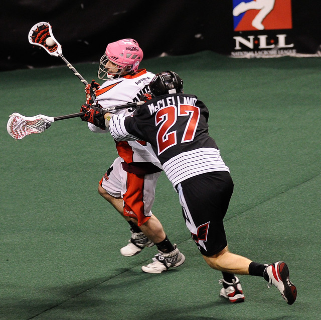 NLL 2011: Blazers vs Wings APR 09