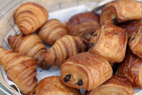 Croissants and Pains au chocolat | Flickr - Photo Sharing!