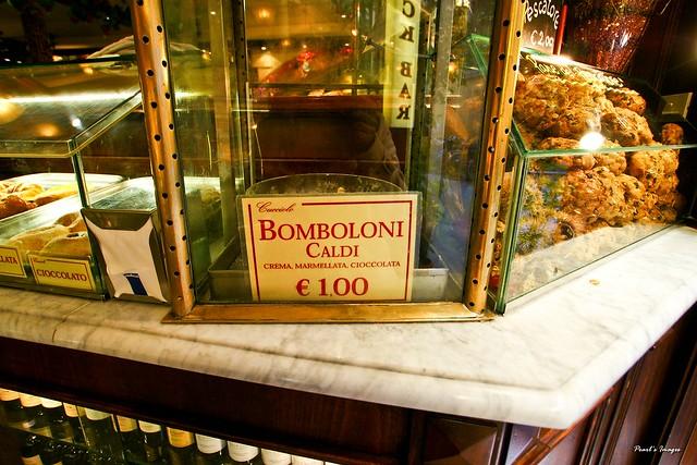 有名的Bomboloni