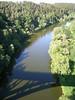 Bechyně, výhled z mostu na Lužnici, foto: Petr Nejedlý