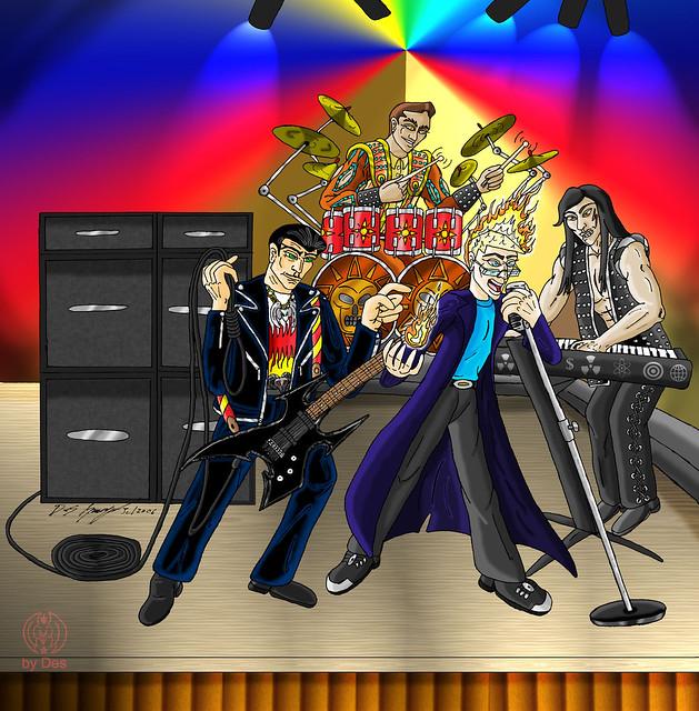 Four Bad Boys Band