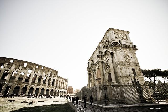 羅馬競技場 &君士坦丁凱旋門