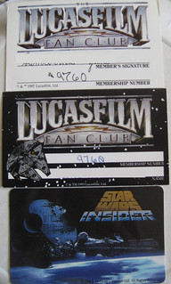 Lucasfilm Fan Club cards