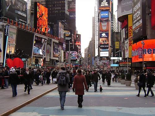 Avenida Broadway en Nueva York