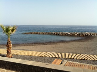 Image of  Playa Punta Larga Caletillas Beach with a length of  1158  meters. beach tenerife lascaletillas