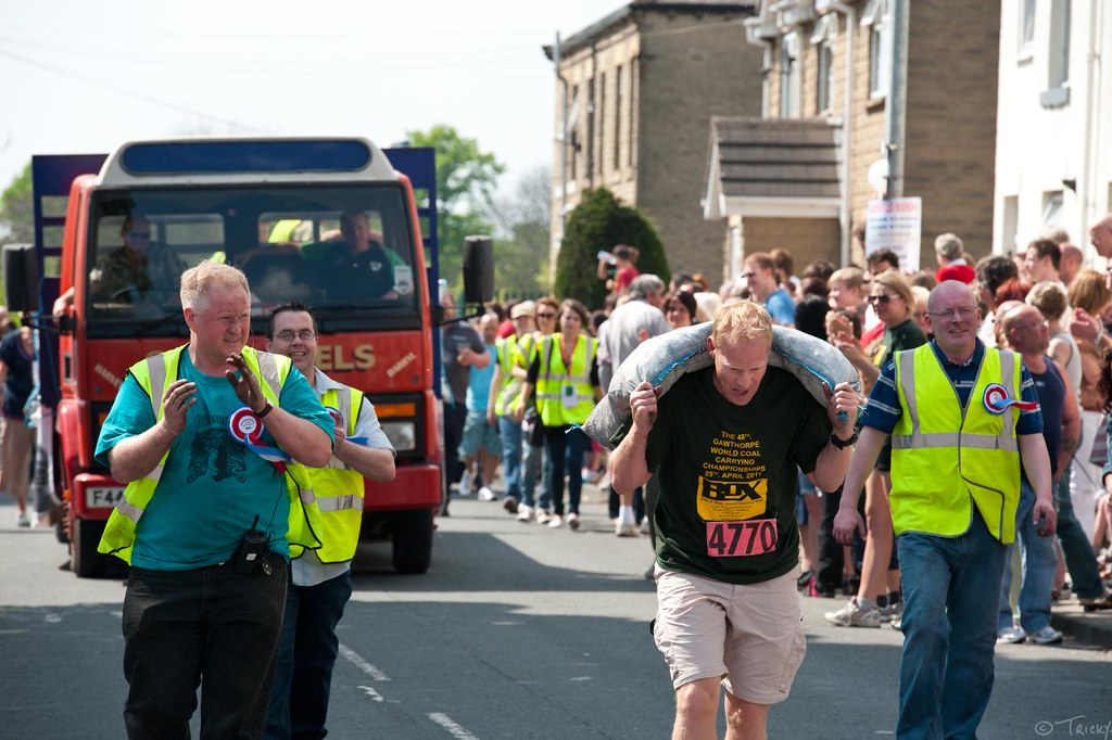 Gawthorpe World Coal-Carrying Championships
