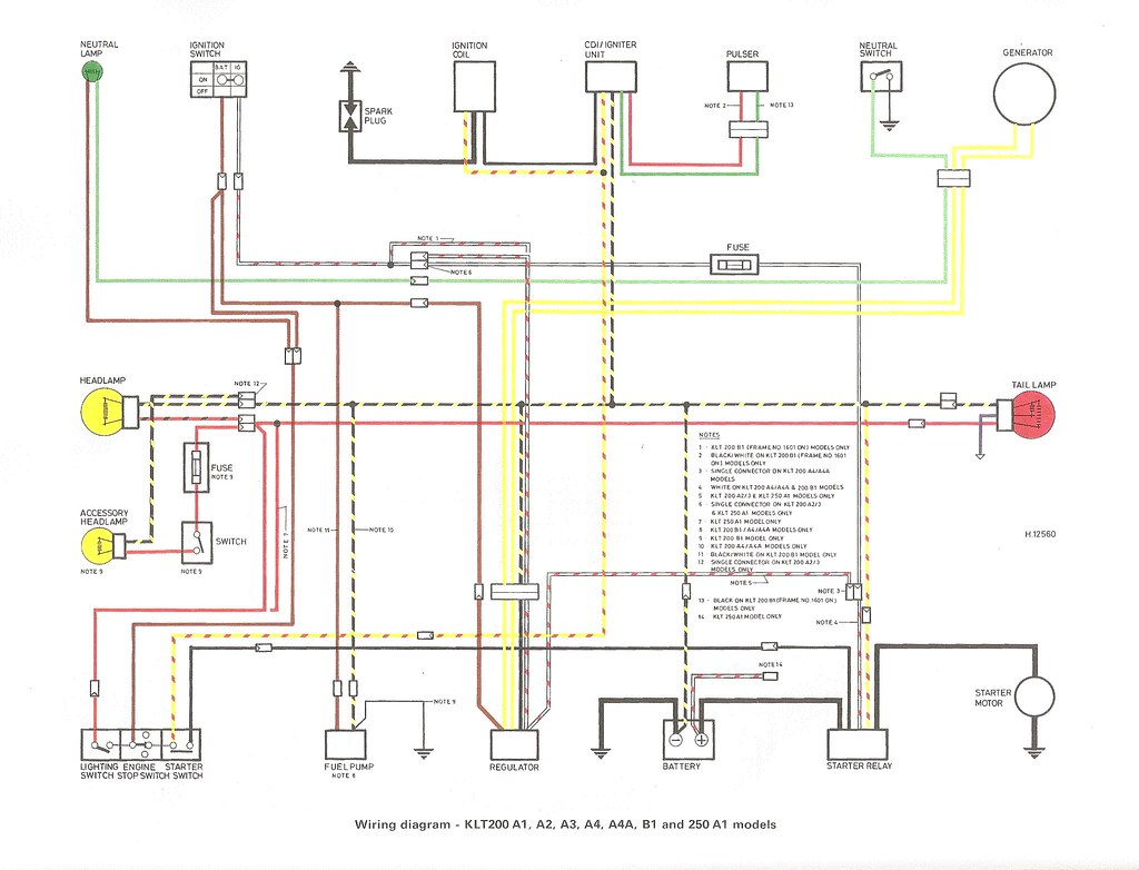 kawasaki klt 250 wiring diagram   31 wiring diagram images