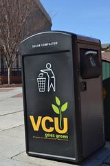 Big Belly Solar Trash Compactor