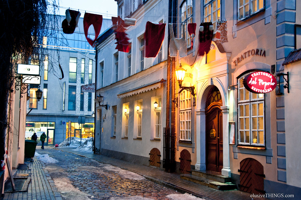 Wandering in Riga