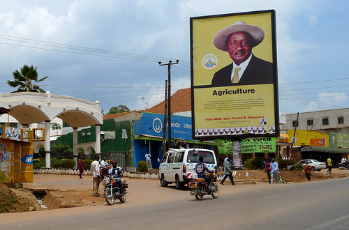 Kampala (Uganda) - Museveni Propaganda