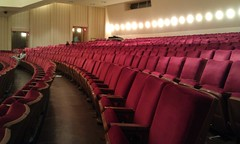 theatre, auditorium, conference hall, convention center,