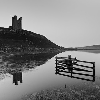 Dunstanburgh reflection